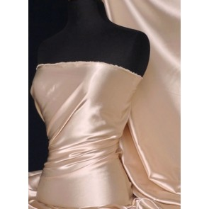 Nude Super Soft Satin Fabric Q710 ND