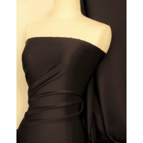 Umber Brown Scuba 4 Way Stretch Poly Lycra Q792 UBR