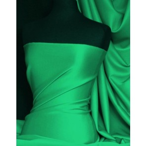 Seconds Jade Green Scuba 4 Way Stretch Poly Lycra SCSB JD