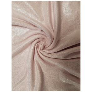 Baby Pink Soft Touch Fog Foil Stretch Fabric SQ260 BPN