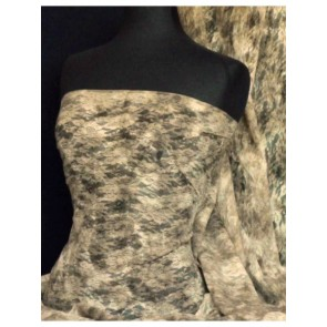 Camouflage Tie Dye Flower Stretch Lace Fabric Q985 CAM