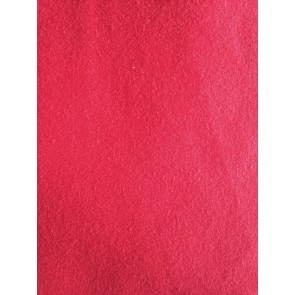 Seconds (272 cms) Red Fleece Backed Sweatshirt Fabric Material SC524 RD