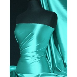 Sea Blue Super Soft Satin Fabric Q710 SEABL