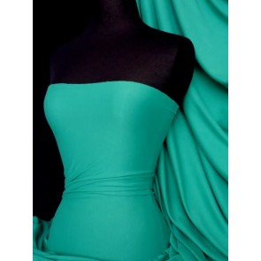 Sea green cotton interlock jersey material Q60 SGR