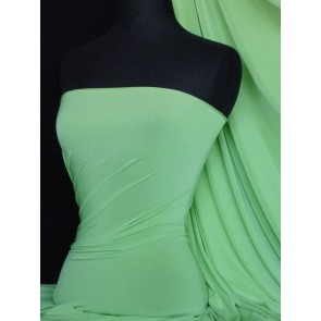 Soft Mint Silk Touch 4 Way Stretch Lycra Fabric Q53 SMNT