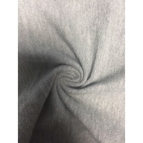 Silver Grey Sweatshirt Fleece Loop Back 4 Way Stretch Cotton Material SQ109 SLVGR