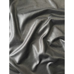 Seconds Black Semi Wet Look On Micro Lycra 4 Way Stretch Fabric SQ118 BK