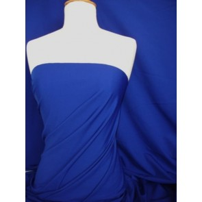 Cobalt Blue Super Stretch Matte Nylon Lycra Shape Wear Fabric SQ137 CBL