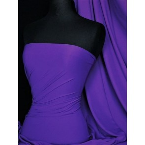 Iris Purple Super Stretch Matte Nylon Lycra Shape Wear Fabric SQ137 IPPL