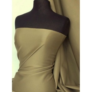 Khaki SC Crepe Stretch Fabric SQ181 KH
