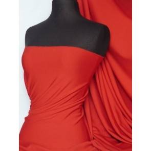 Red SC Crepe Stretch Fabric SQ181 RD