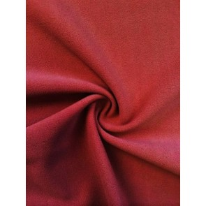 Wine SC Crepe Stretch Fabric SQ181 WN