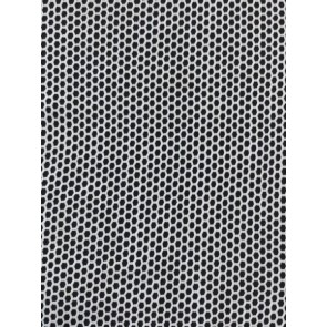 Seconds White Fishnet Beehive Hexagon 4 Way Stretch Material SQ198 WHT