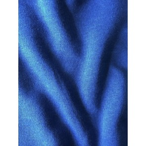 Clearance Royal Blue Sweatshirt Polyester Fleece Backed Tubular Width Material SQ241 RBL