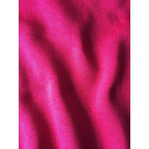 Clearance Hot Pink/Red Sweatshirt Polyester Fleece Backed Tubular Width Material SQ241 PNRD