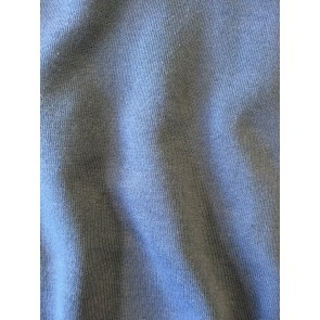 Clearance Petrol Blue Sweatshirt Cotton Polyester Fleece Backed Tubular Width Material SQ242 PTBL