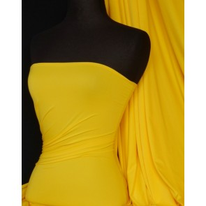 Yellow  Supplex Sports 4 Way Stretch Lycra Q50 YL