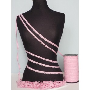 3 Metres Candy Pink Lingerie Elastic Trimming SY35 PN