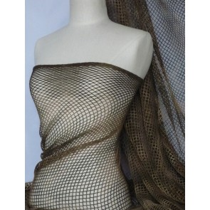 Tie dye fishnet / net stretch fabric Q712 DKKH