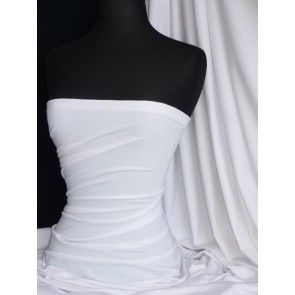 White Supplex Sports 4 Way Stretch Lycra Q50 WHT